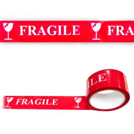 Тиксо лента с надпис FRAGILE 48mm X 60m